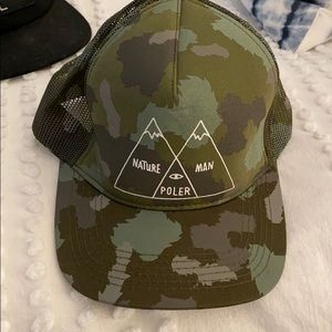 Accessories - Poler Snapback Never worn